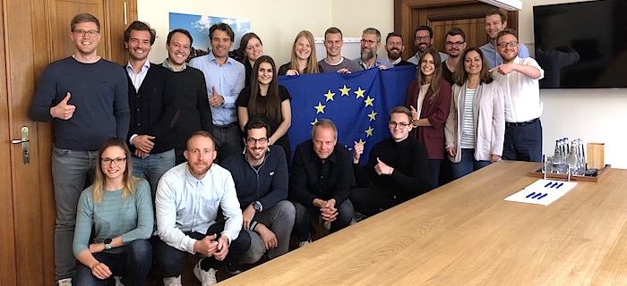 Das mm sports Team wählt Europa